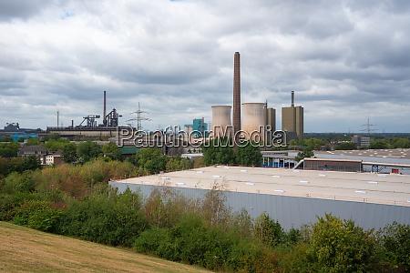industrial area ruhr metropolis germany