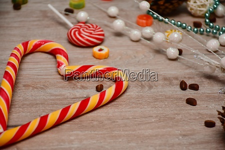 holiday candy layout