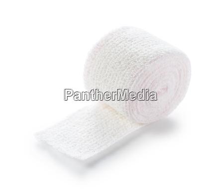 bandages on a white background