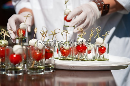 food catering concept