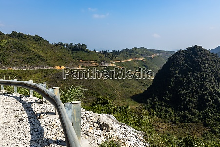 the road of the ha giang