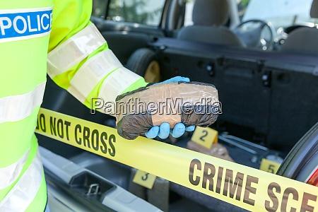 crime scene drug smuggling