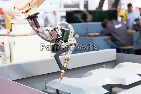 robot arm for welding