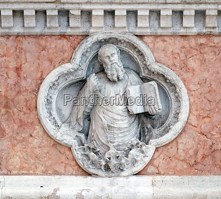 saint paul by giovanni ferabech relief