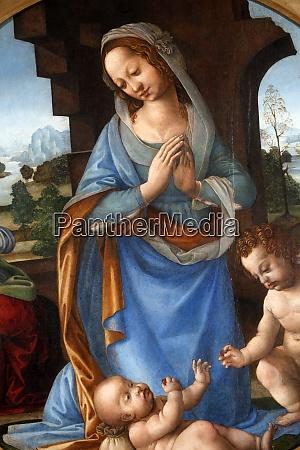 lorenzo di credi birth of christ