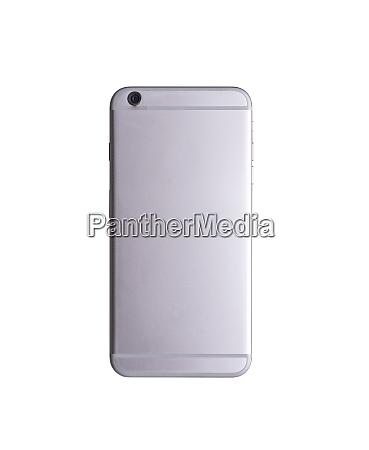 backside view modern smartphone mockup