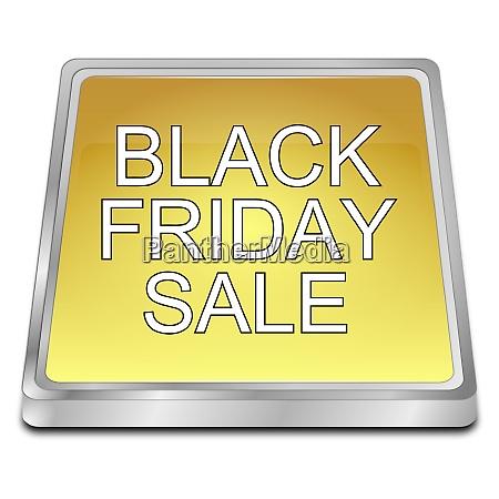 golden black friday sale 3d