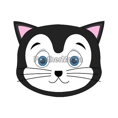 cute cat face