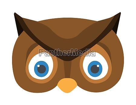 cute owl face