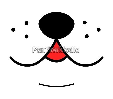 cute dog smile