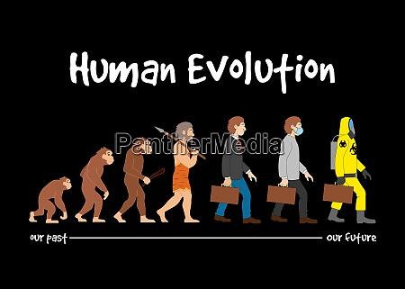evolution past to future