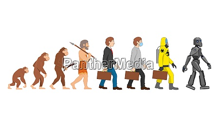 evolution past to our far
