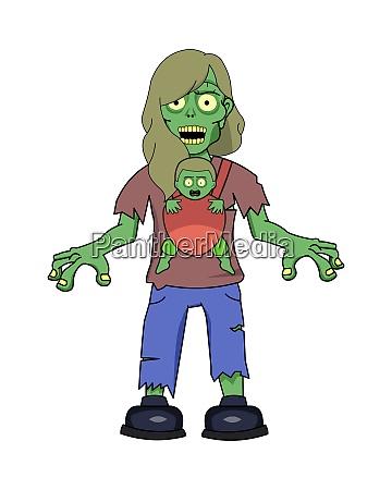 zombie mum