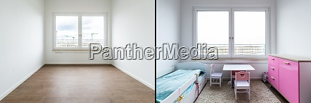 before and after luxury home interior