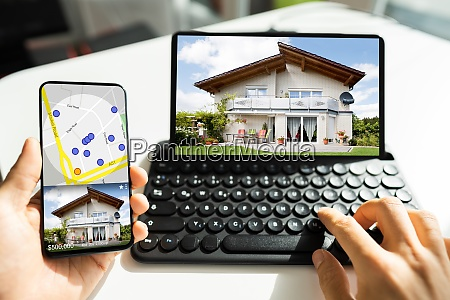 real estate property search online