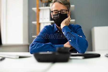 waiting landline telephone call