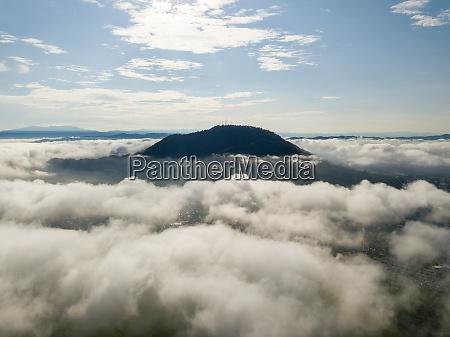 aerial view cherok tokkun hill