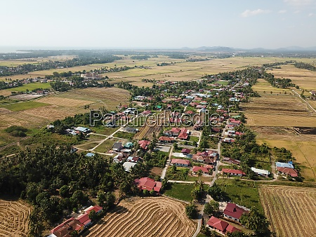 malays village at penaga
