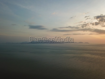 aerial view penang island