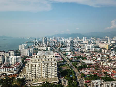aerial view tun dr lim chong