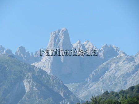 beautiful mountain of spain complicated to