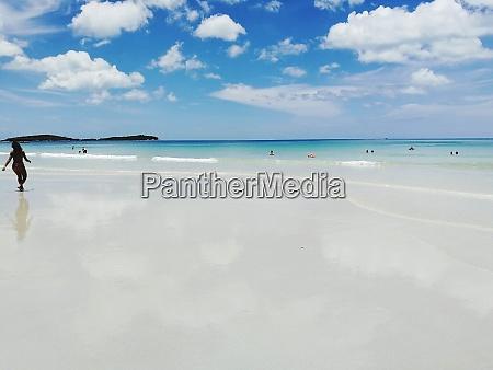 koh samuiclear beach sand sun