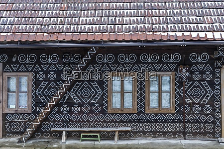painted folk house unesco village cicmany