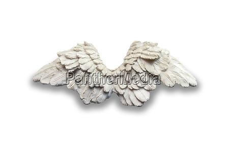 angel wings sculpture
