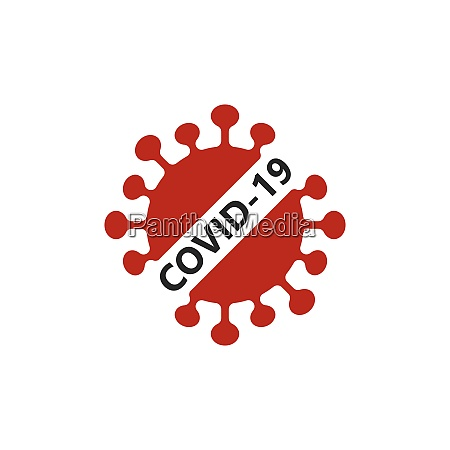 coronavirus, covid-19, prohibition, sign, flat, vector - 29011494