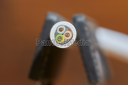 power cord cross section