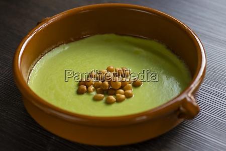 still, life, of, green, peas, soup - 29013199