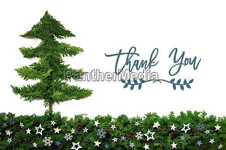 christmas tree blue stars fir branch
