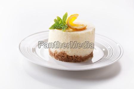 homemade cheesecake pastry