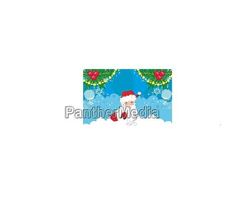 funny santa claus card