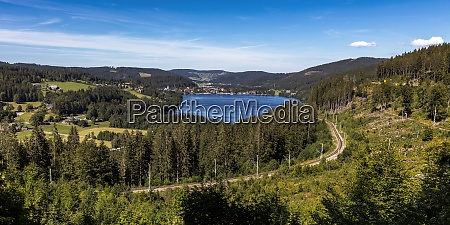 titisee in the black forest