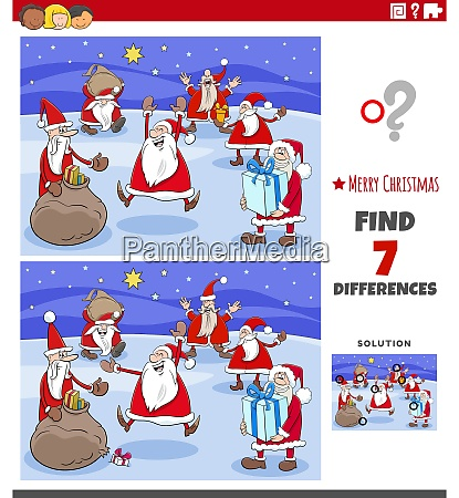differences educational task for children with