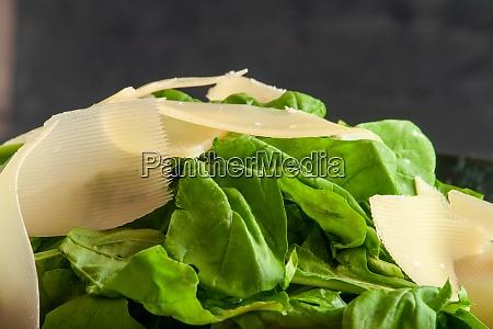 healthy arugula salad