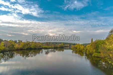 the rostavitsya river in the kyiv