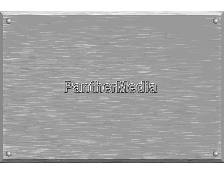 background texture of brushed silver metal