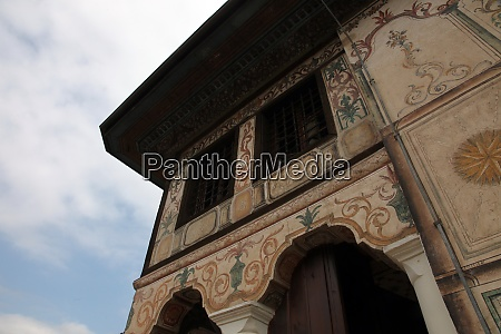 aladza painted mosque tetovo macedonia