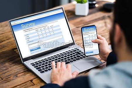 online business feedback survey form or