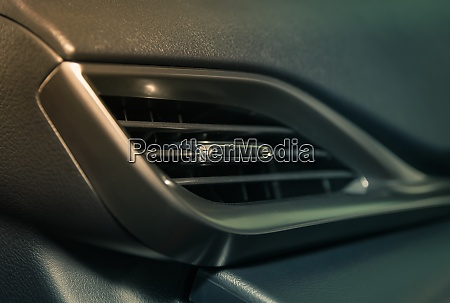 air vent in car interior on