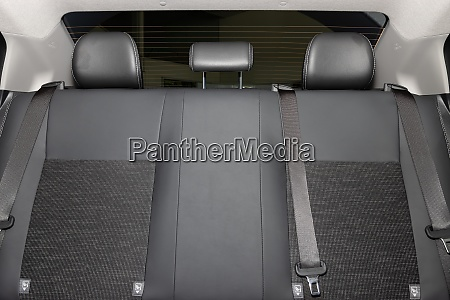 car rear seat and rear window