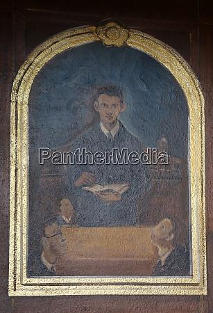 servant of god peter barbaric altarpiece