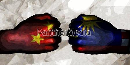 china vs malaysia