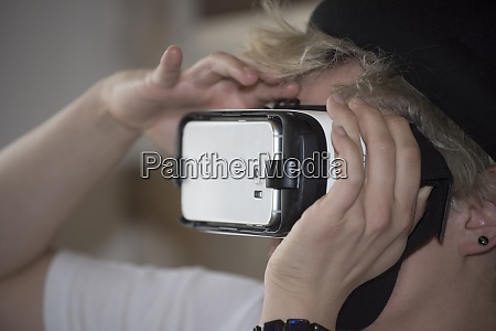 a vr or virtual reality headset