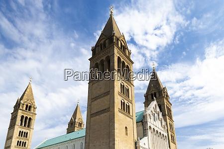 cathedral in pecs baranya county hungary