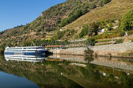 river boat touring the douro