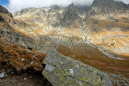 great cold valley in high tatras