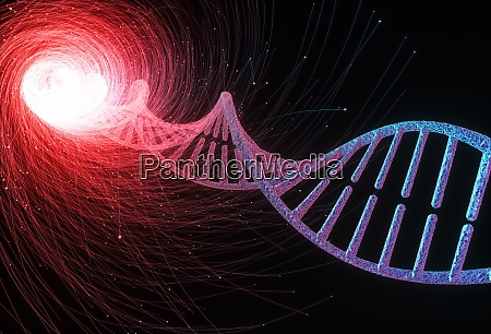 dna genetic code colorful